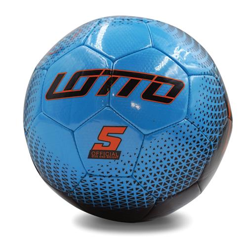 Spectrum Soccer Ball, Blue/Orange, swatch