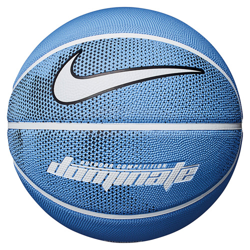 Dominate Official Basketball, Lt Blue/White, swatch