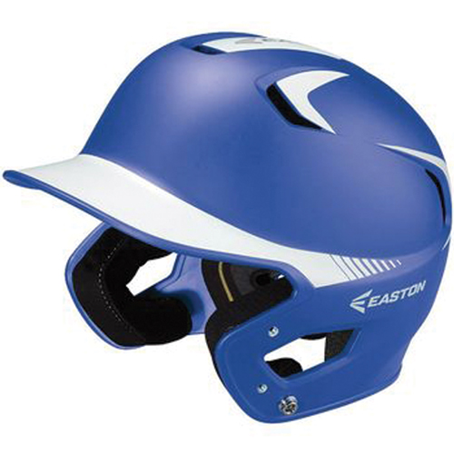Senior Z5 Grip Two-Tone Batting Helmet, Blue/White, swatch