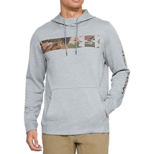 Men's Hunt Armor Fleece Hoodie, Steel, swatch
