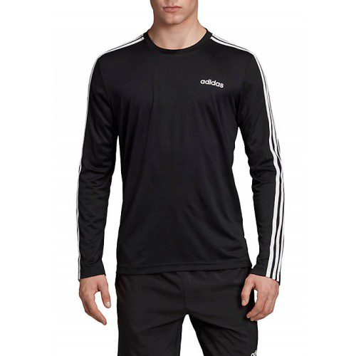 Men's Designed 2 Move Climalite Long Sleeve Tee, Black, swatch