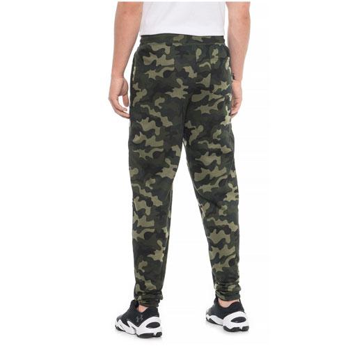 Men's CVC Fleece Jogger Pants, Green, swatch