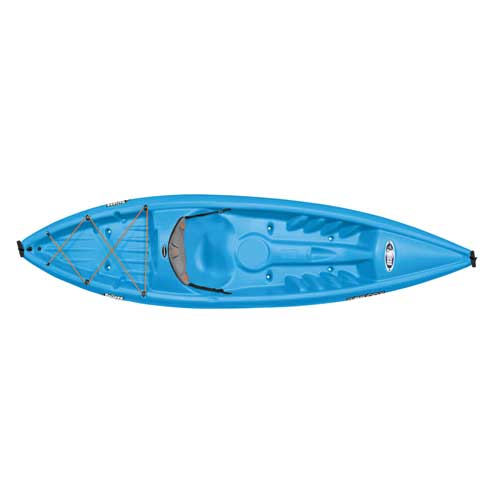 Rise 100X Sit-On-Top Kayak, Blue, swatch