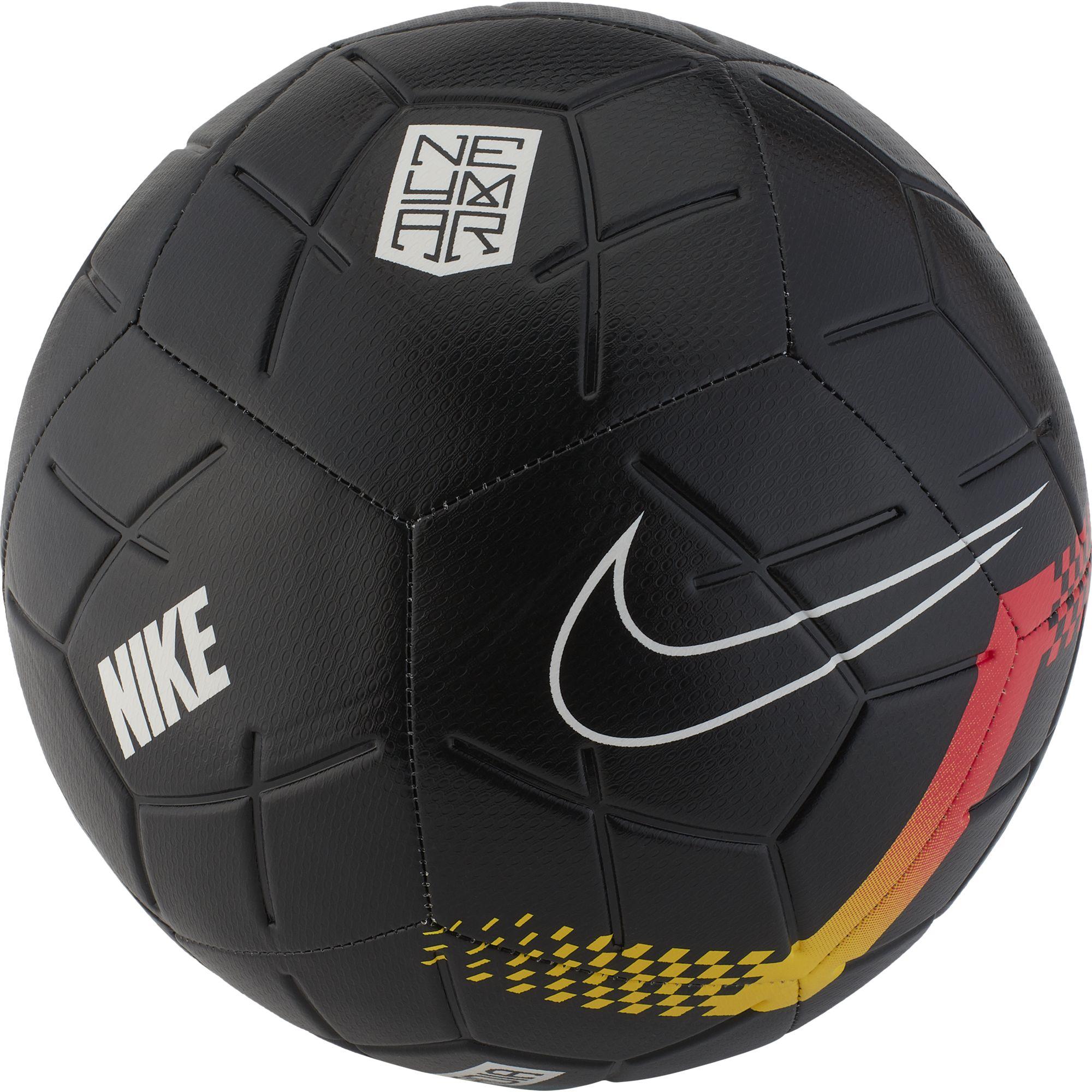 Neymar Strike Soccer Ball, Black/Red, swatch