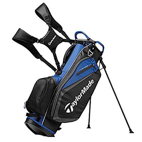 Stand Bag, Black/Blue, swatch