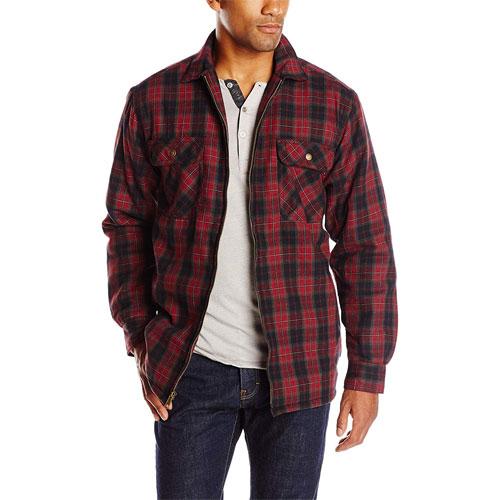 Marshall Shirt Jacket, Red, swatch