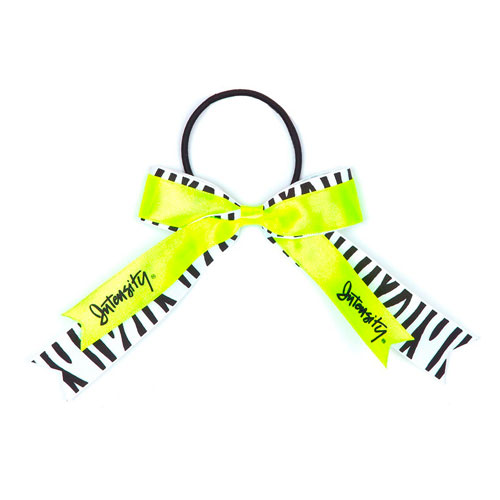 Setter Hair Ribbon, Black/Yellow, swatch
