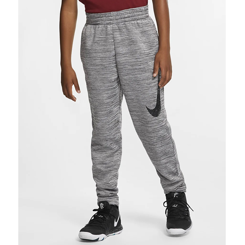 Boy's Therma Basketball Pant, Charcoal,Smoke,Steel, swatch
