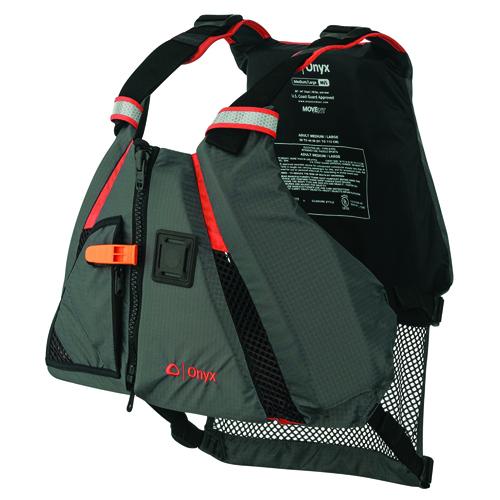 MoveVent Dynamic Floatation Vest, Orange, swatch