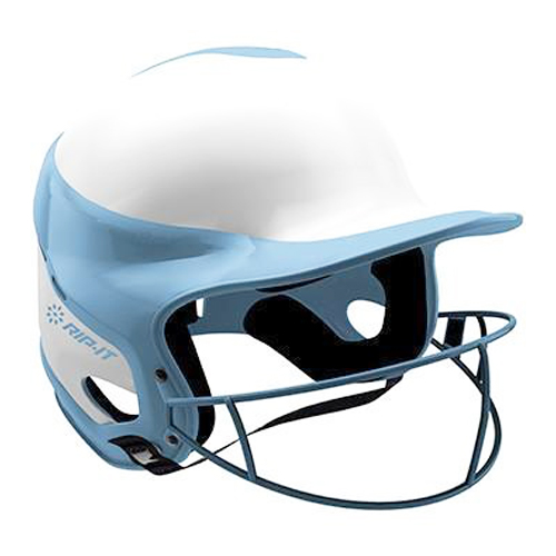 Vision Pro Softball Helmet with Mask, Carolina Blue, swatch