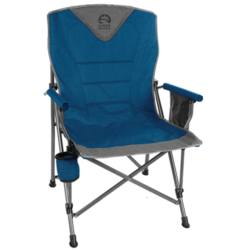 Monster Hard Arm Chair, Blue, swatch