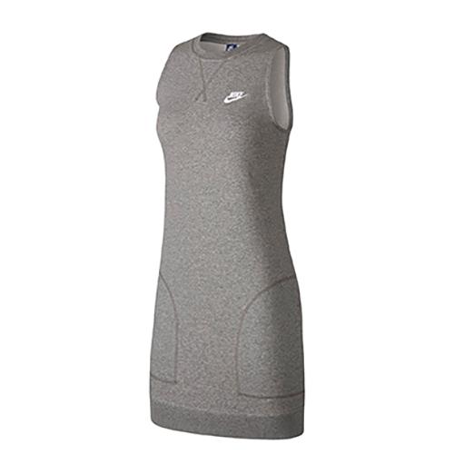 Women's Sleeveless Sportswear Dress, Charcoal,Smoke,Steel, swatch