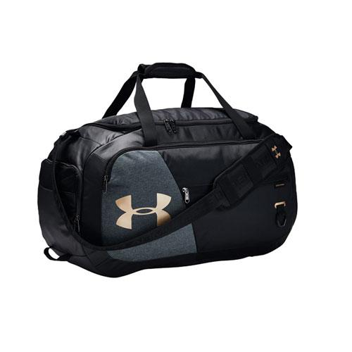 Undeniable 4.0 Medium Duffle Bag, Black/Gold, swatch