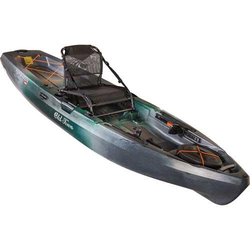 Topwater 106 Kayak, Green/Silver, swatch