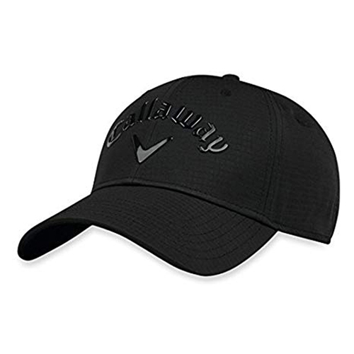 Women's Uptown Adjustable Golf Hat, Black, swatch