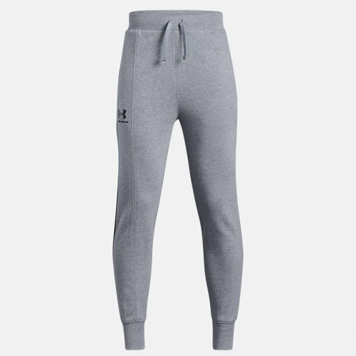 Boy's Rival Blocked Jogger, Heather Gray, swatch