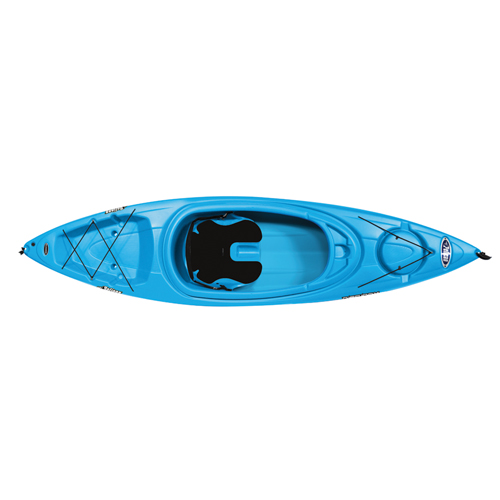 Rise 100X Sit-In Kayak, Blue, swatch