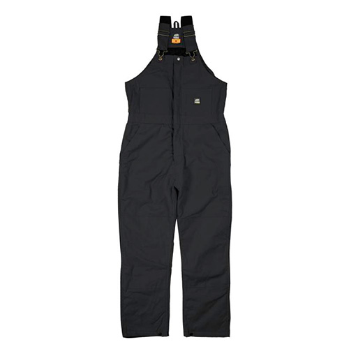 Deluxe Insulated Bib Overalls, Black, swatch