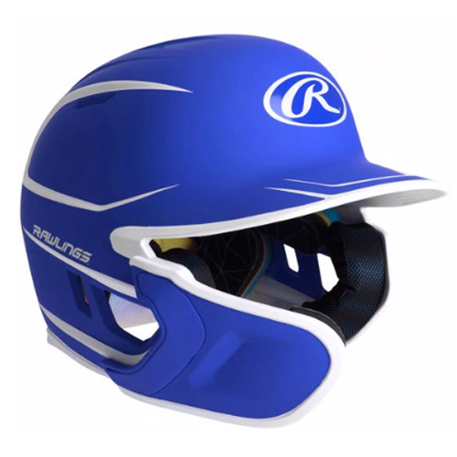 Junior MACH 2-Tone Matte Batting Helmet, Royal Bl,Sapphire,Marine, swatch