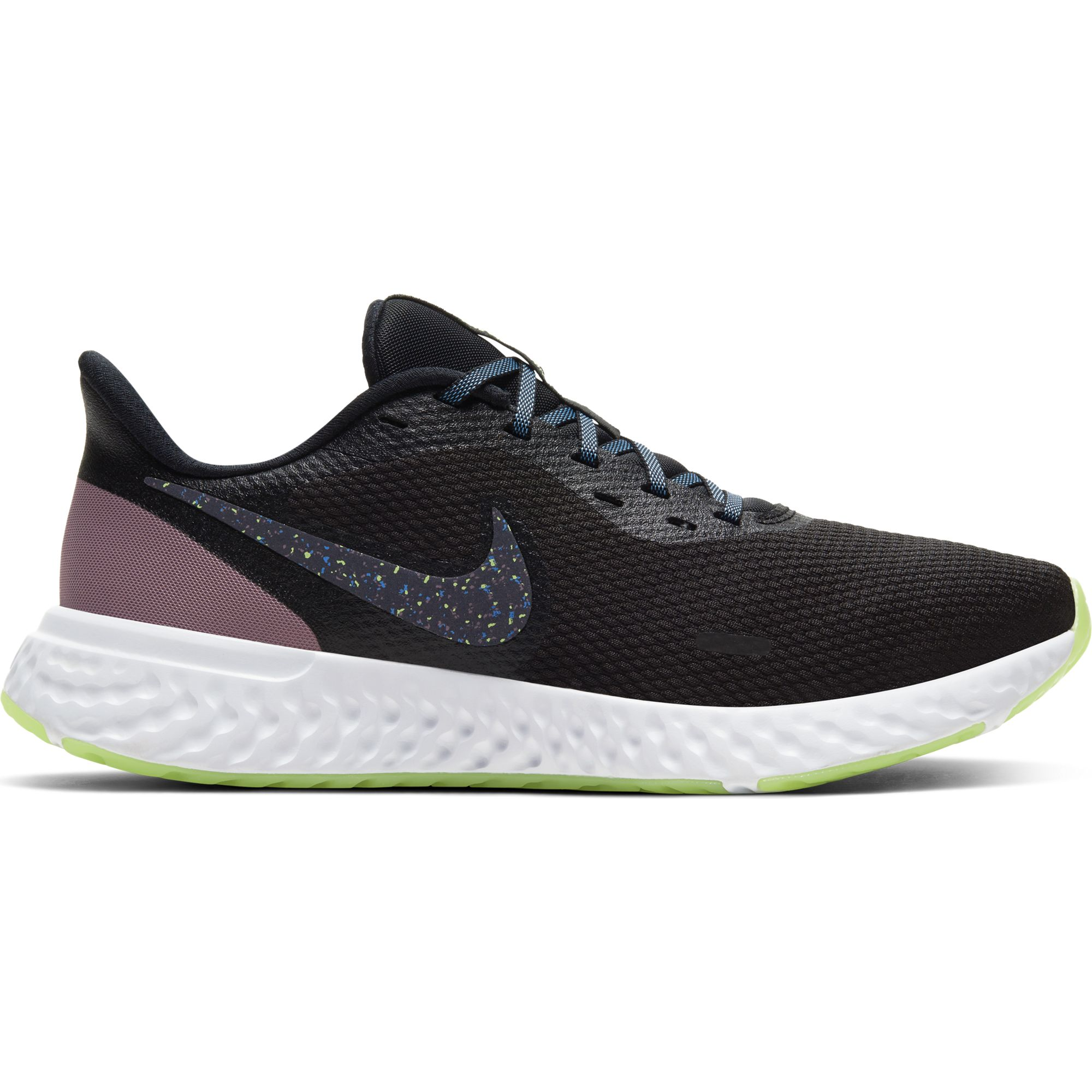 Women's Revolution 5 Running Shoe, Black, swatch