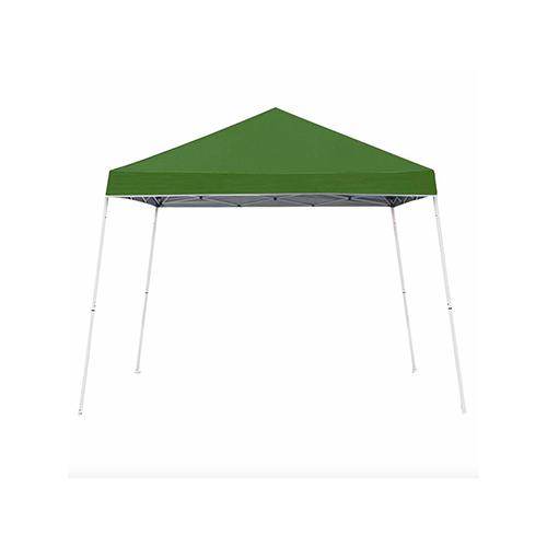 10 x 10 Slant Leg Canopy, Green, swatch