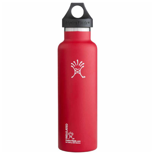 21 Oz. Standard Mouth Water Bottle, Red, swatch