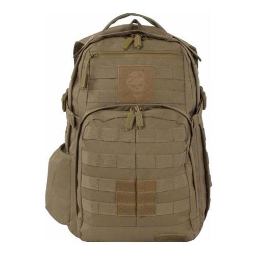 Ninja Backpack, Tan/Red, swatch