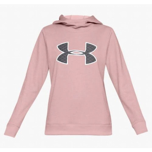 Women's Fleece Pull Over Hoodie, Pink, swatch