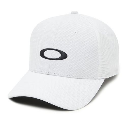 Men's Ellipse Golf Hat, White, swatch