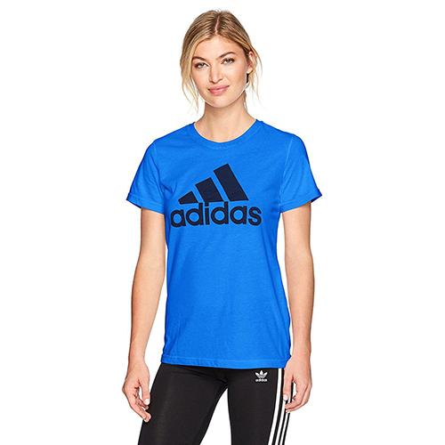 Women's Classic Logo T-Shirt, Blue, swatch