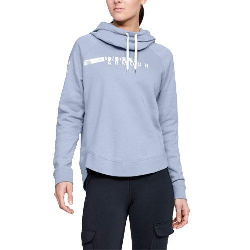 Women's Favorite Fleece Camo Logo Hoodie, Blue, swatch