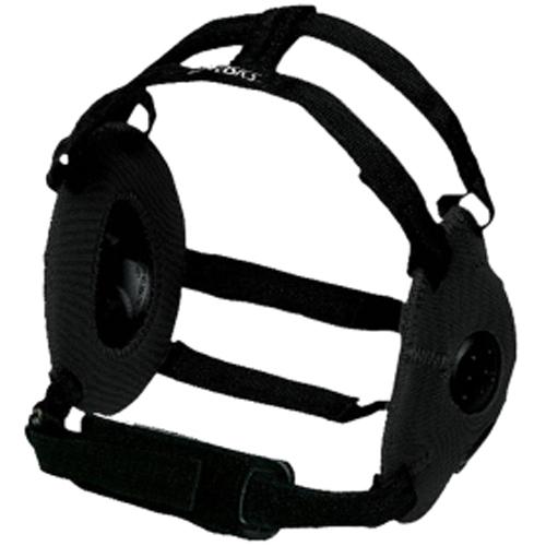 Gel Wrestling Headgear, Black, swatch