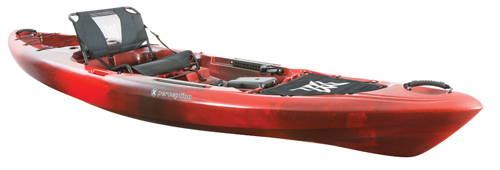 Pescador 12 Pro Kayak, Red/Black, large