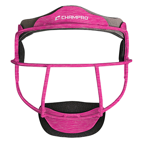 The Grill Softball Fielder's Facemask, Pink, swatch