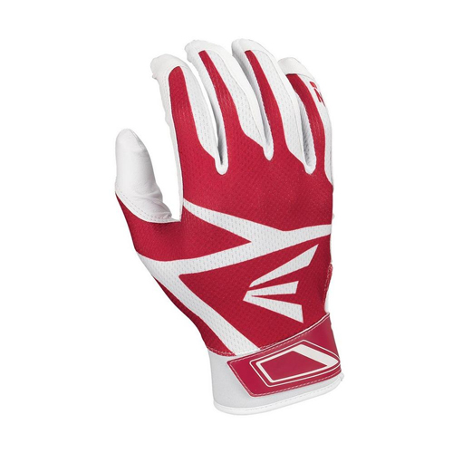 Youth Z3 Hyperskin Batting Gloves, White/Red, swatch