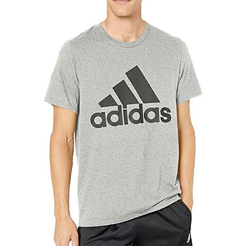 Men's Badge Of Sport Short Sleeve T-Shirt, Heather Gray, swatch