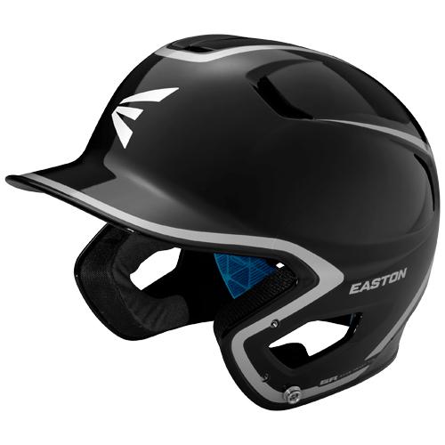 Junior Z5 Grip Two-Tone Batting Helmet, Black/White, swatch
