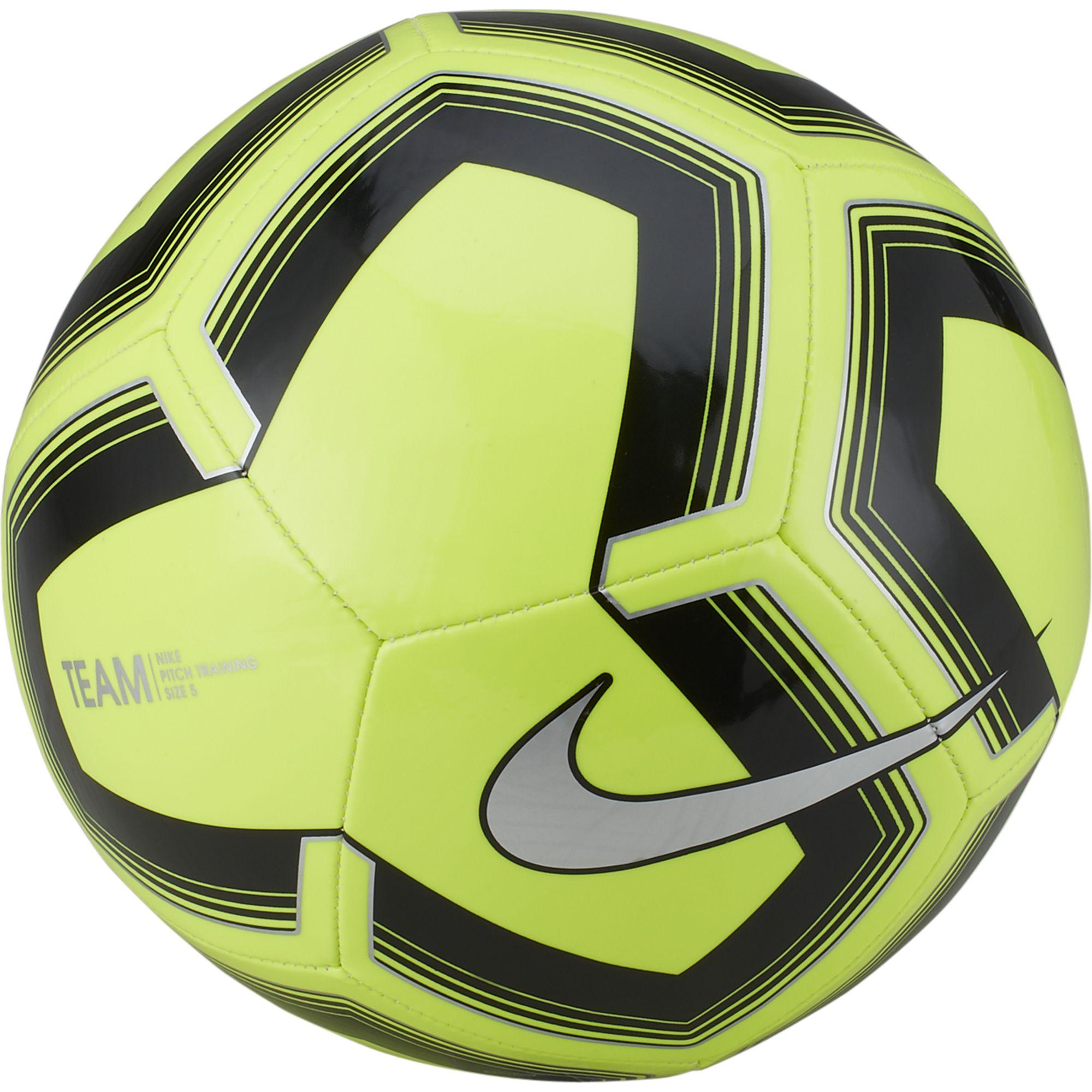 Pitch Training Soccer Ball, Yellow/Black, swatch