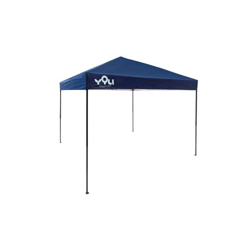 10'X10' Easylift Straight Leg Canopy, Blue, swatch