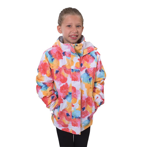 Girls' Galaxy 2 Snow Jacket, Floral, swatch