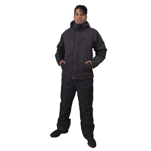 Men's Siberian Insulated Soft Shell Jacket, Black, swatch