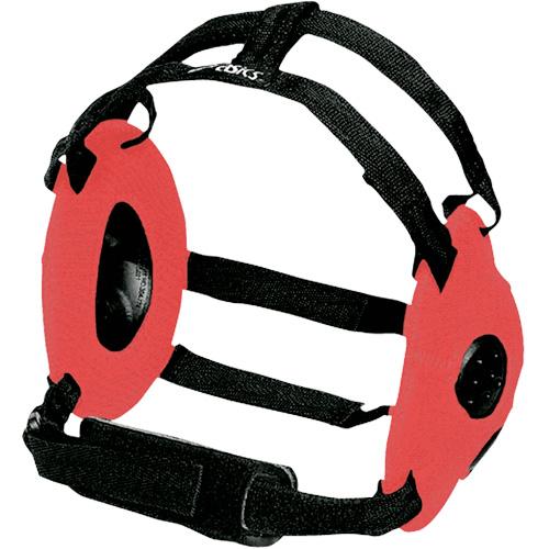 Gel Wrestling Headgear, Red, swatch