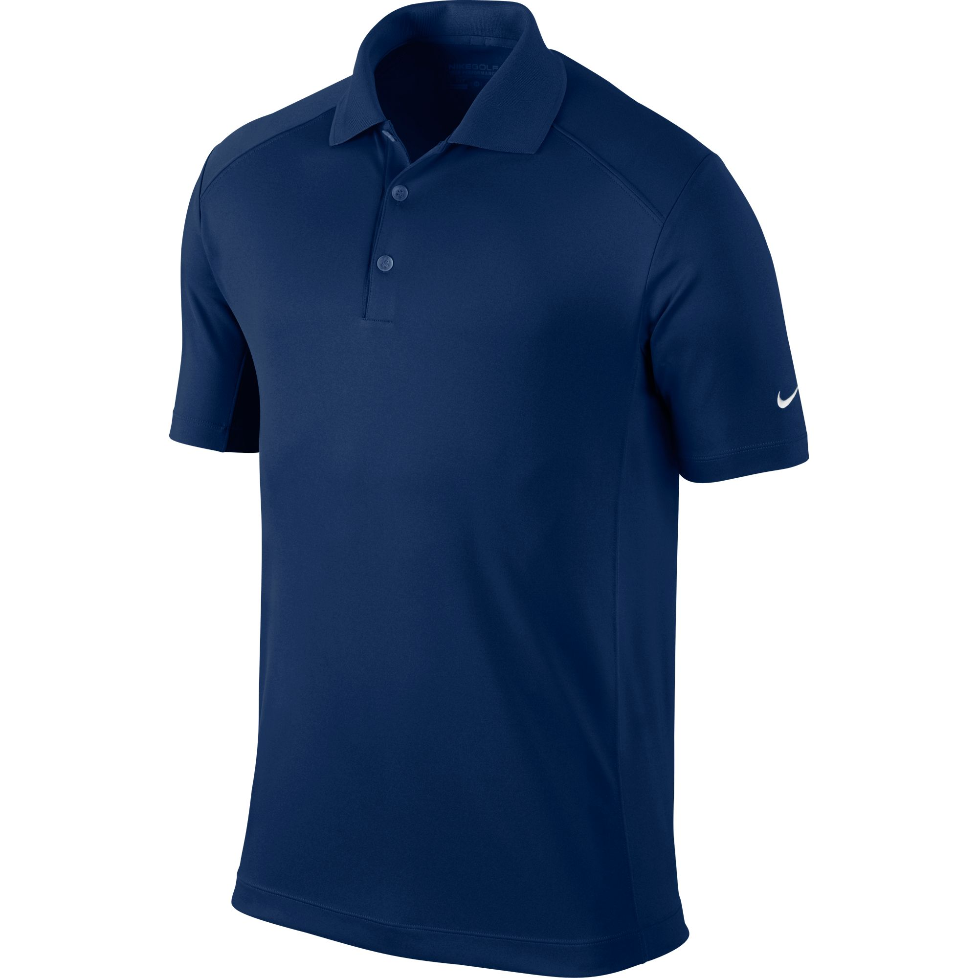 Men's Victory Solid Polo Golf Shirt, Navy, swatch
