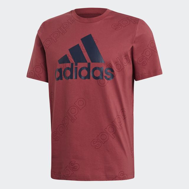 Men's Favorites Logo Short Sleeve Tee, Red, swatch