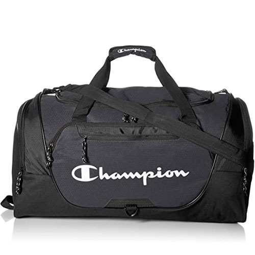 Expedition Duffel Bag, Black, swatch