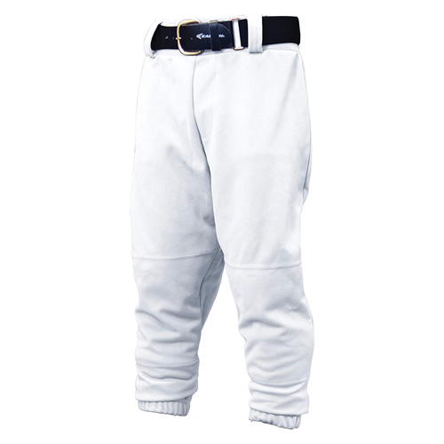 Youth Pull Up Pants, White, swatch