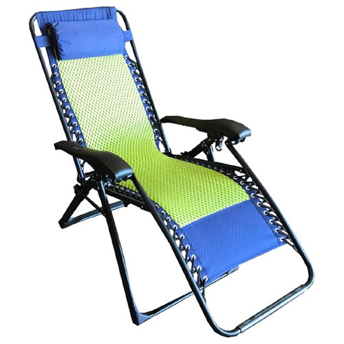 Zero Gravity Chair, Green/Blue, swatch