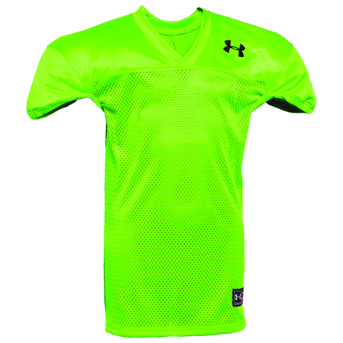 Youth Practice Football Jersey, Neon Green, swatch