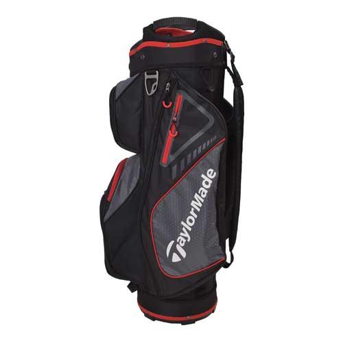 2019 Cart Bag, Black/Red, swatch