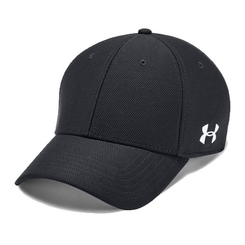 Men's Blitzing Curved Hat, Black, swatch